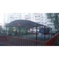 Арочный навес  для тренажерной площадки типовой  6х9м