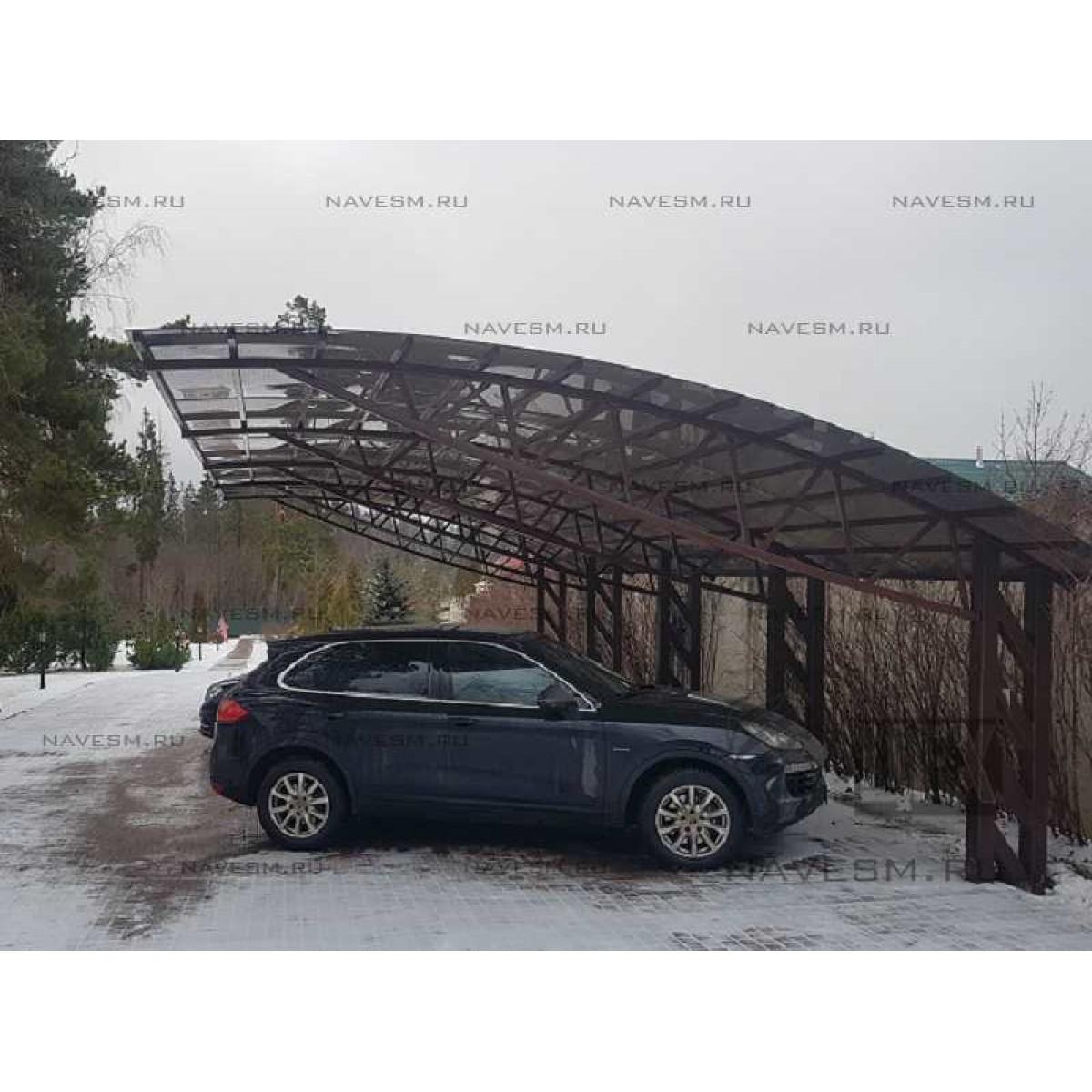 Консольный навес для автомобилей