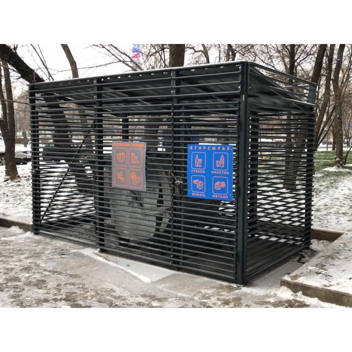Павильон для  мусорных контейнеров