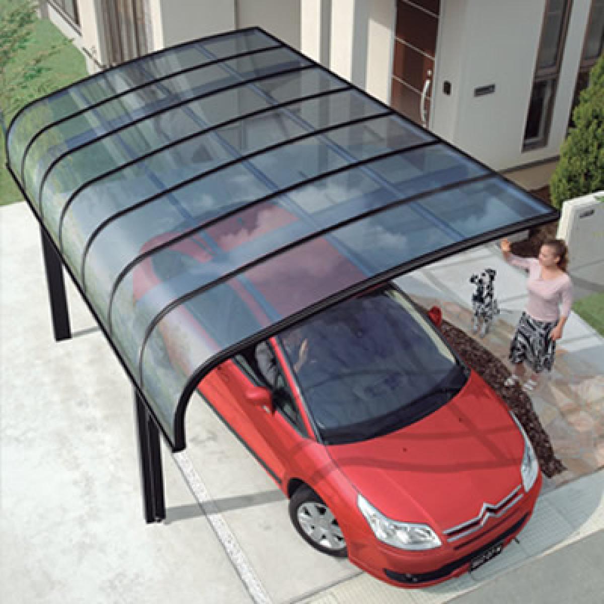 Консольный навес  для машины