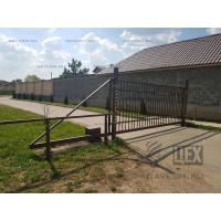Ворота решетчатые откатные