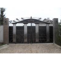 Декоративные откатные ворота