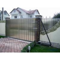Легкие недорогие откатные ворота