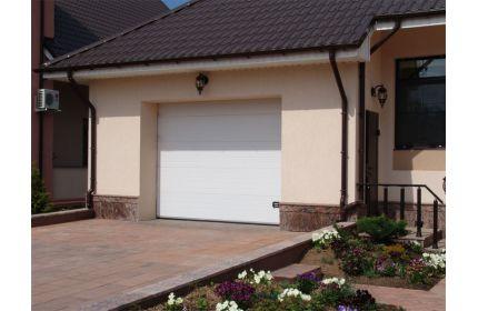 Секционные ворота для гаража сендвич