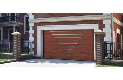 Декоративные гаражные ворота